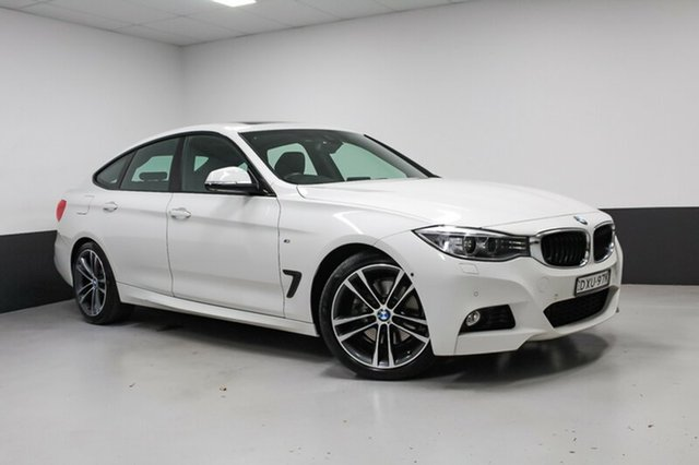 Used BMW 328i F34 M Sport Gran Turismo, 2016 BMW 328i F34 M Sport Gran Turismo Alpine White 8 Speed Sports Automatic Hatchback