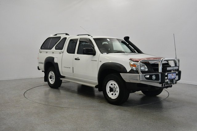 Used Mazda BT-50 UNY0E4 DX+ Freestyle, 2009 Mazda BT-50 UNY0E4 DX+ Freestyle White 5 Speed Manual Utility