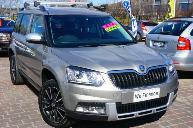 Used Skoda Yeti 5L MY14 103TDI DSG Outdoor, 2014 Skoda Yeti 5L MY14 103TDI DSG Outdoor Silver 6 Speed Sports Automatic Dual Clutch Wagon