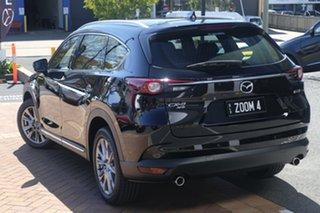 2018 Mazda CX-8 KG4W2A Asaki SKYACTIV-Drive i-ACTIV AWD Jet Black 6 Speed Sports Automatic Wagon.