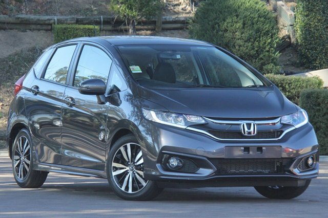 New Honda Jazz GF MY21 VTi-L, 2020 Honda Jazz GF MY21 VTi-L Modern Steel 1 Speed Constant Variable Hatchback