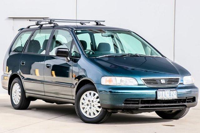 Used Honda Odyssey 1st Gen Pakenham, 1997 Honda Odyssey 1st Gen Green 4 Speed Automatic Wagon