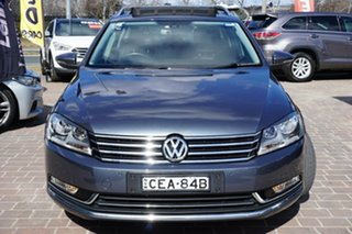 2011 Volkswagen Passat Type 3C MY11 125TDI DSG Highline Grey 6 Speed Sports Automatic Dual Clutch.