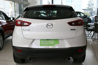 2018 Mazda CX-3 DK2W7A Akari SKYACTIV-Drive Snowflake White 6 Speed Sports Automatic Wagon