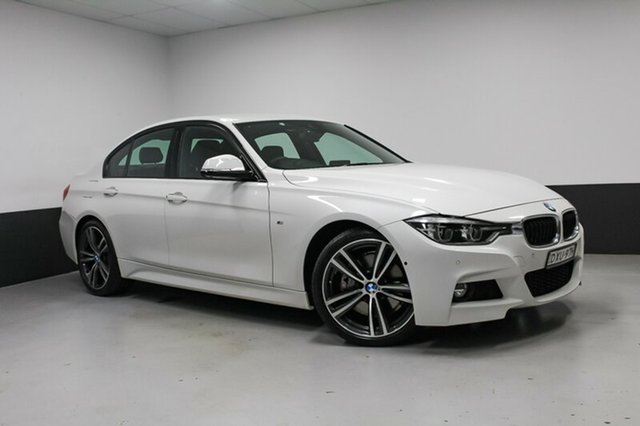 Used BMW 330i F30 LCI M Sport, 2016 BMW 330i F30 LCI M Sport Alpine White 8 Speed Sports Automatic Sedan