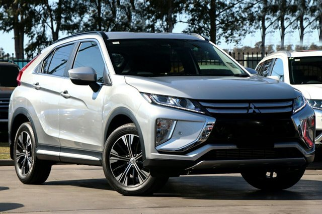 New Mitsubishi Eclipse Cross YA MY20 LS 2WD, 2020 Mitsubishi Eclipse Cross YA MY20 LS 2WD Sterling Silver 8 Speed Constant Variable Wagon