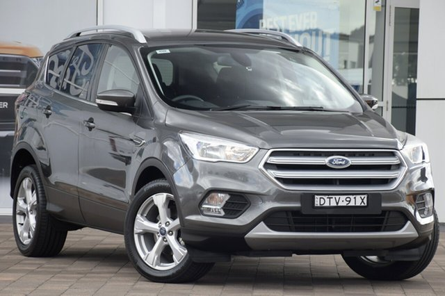 Used Ford Escape ZG Trend 2WD, 2017 Ford Escape ZG Trend 2WD Magnetic 6 Speed Sports Automatic SUV