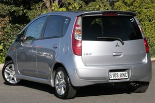 2010 Mitsubishi Colt RG MY11 VR-X Cool Silver 5 Speed Constant Variable Hatchback.