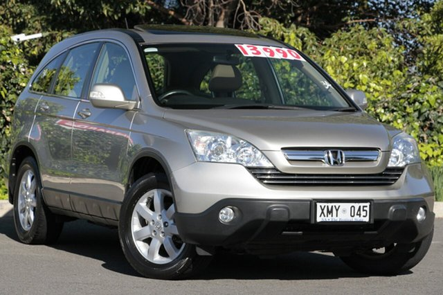 Used Honda CR-V RE MY2007 Luxury 4WD, 2007 Honda CR-V RE MY2007 Luxury 4WD Satellite Silver 5 Speed Automatic Wagon
