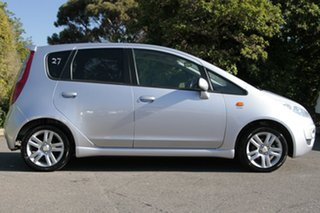 2010 Mitsubishi Colt RG MY11 VR-X Cool Silver 5 Speed Constant Variable Hatchback