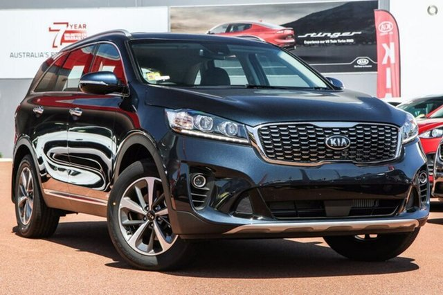 New Kia Sorento UM MY19 Sport AWD, 2019 Kia Sorento UM MY19 Sport AWD Gravity Blue 8 Speed Sports Automatic Wagon