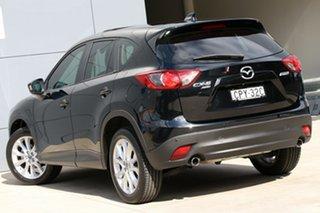 2013 Mazda CX-5 KE1031 MY14 Grand Touring SKYACTIV-Drive AWD Black 6 Speed Sports Automatic Wagon.
