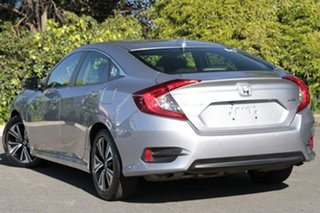 2017 Honda Civic 10th Gen MY17 VTi-L Lunar Silver 1 Speed Constant Variable Sedan.