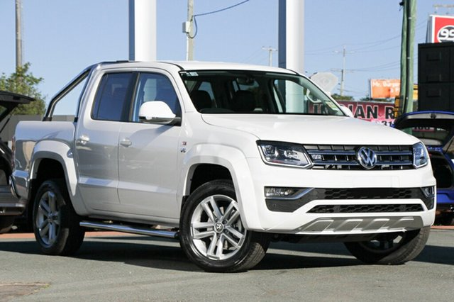 New Volkswagen Amarok 2H MY18 TDI550 4MOTION Perm Highline, 2018 Volkswagen Amarok 2H MY18 TDI550 4MOTION Perm Highline Candy White 8 Speed Automatic Utility