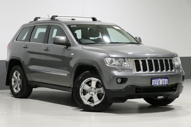 Used Jeep Grand Cherokee WK Laredo (4x4), 2011 Jeep Grand Cherokee WK Laredo (4x4) Gunmetal Grey 5 Speed Automatic Wagon