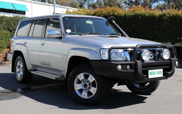 Used Nissan Patrol Y61 GU 9 ST, 2015 Nissan Patrol Y61 GU 9 ST Silver 4 Speed Automatic Wagon