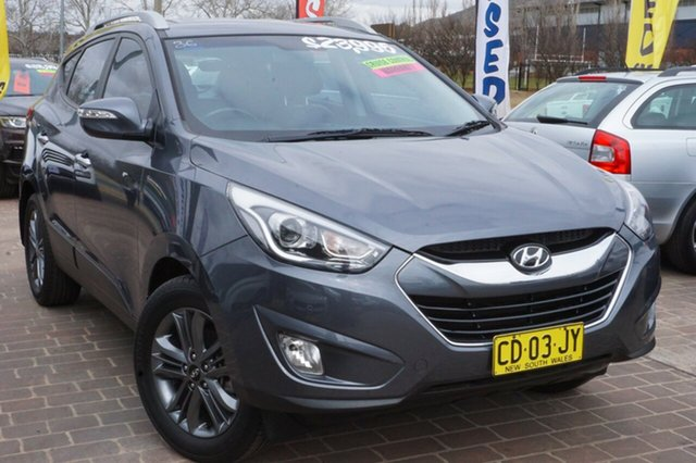 Used Hyundai ix35 LM3 MY15 Elite, 2015 Hyundai ix35 LM3 MY15 Elite Grey 6 Speed Sports Automatic Wagon