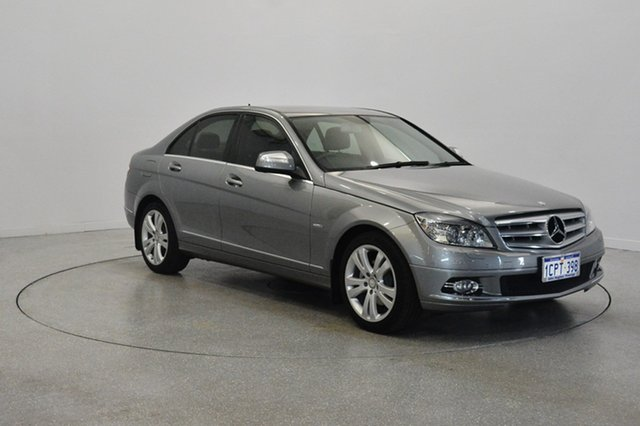Used Mercedes-Benz C200 Kompressor W204 Avantgarde, 2007 Mercedes-Benz C200 Kompressor W204 Avantgarde Gold 5 Speed Sports Automatic Sedan