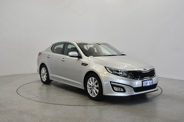 Used Kia Optima TF MY14 SI, 2014 Kia Optima TF MY14 SI Silver 6 Speed Sports Automatic Sedan