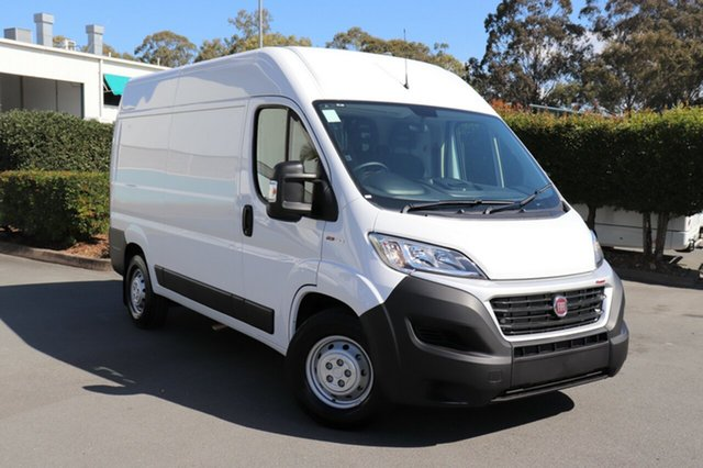 Demo Fiat Ducato Series 6 Mid Roof MWB Comfort-matic, 2018 Fiat Ducato Series 6 Mid Roof MWB Comfort-matic White 6 Speed Sports Automatic Single Clutch