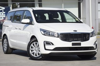 2019 Kia Carnival YP MY19 S Clear White 8 Speed Sports Automatic Wagon.