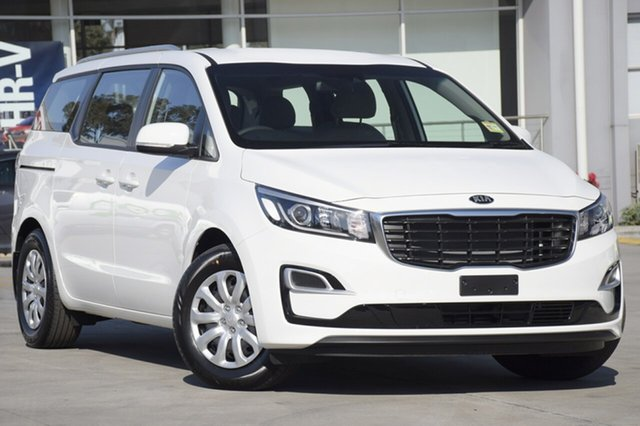 New Kia Carnival YP MY19 S, 2018 Kia Carnival YP MY19 S Clear White 8 Speed Sports Automatic Wagon
