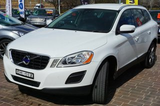 2012 Volvo XC60 DZ MY12 T5 PwrShift White 6 Speed Sports Automatic Dual Clutch Wagon.