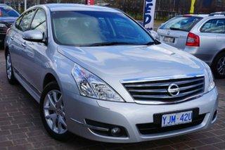 2012 Nissan Maxima J32 MY11 250 X-tronic ST-L Silver 6 Speed Constant Variable Sedan.