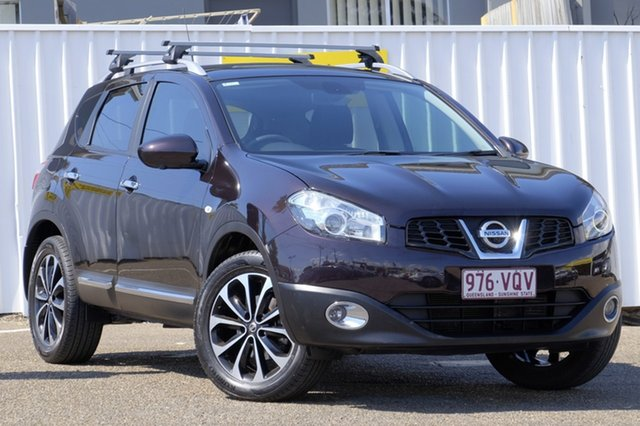 Used Nissan Dualis J10W Series 3 MY12 Ti-L Hatch X-tronic 2WD, 2013 Nissan Dualis J10W Series 3 MY12 Ti-L Hatch X-tronic 2WD Black 6 Speed Constant Variable