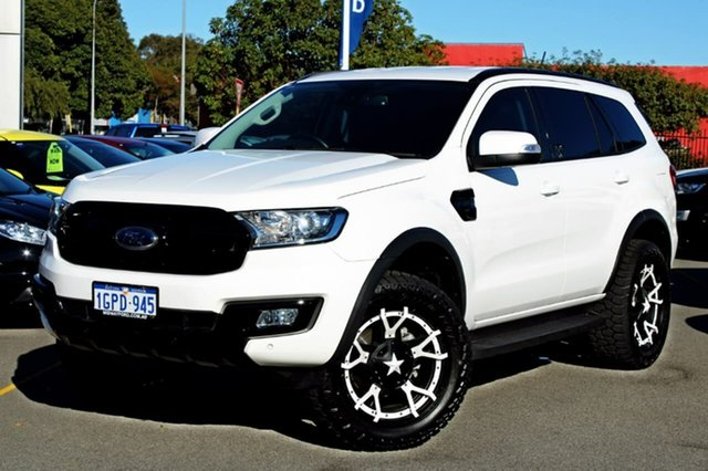 Used Ford Everest UA Trend 4WD, 2017 Ford Everest UA Trend 4WD White 6 Speed Sports Automatic Wagon
