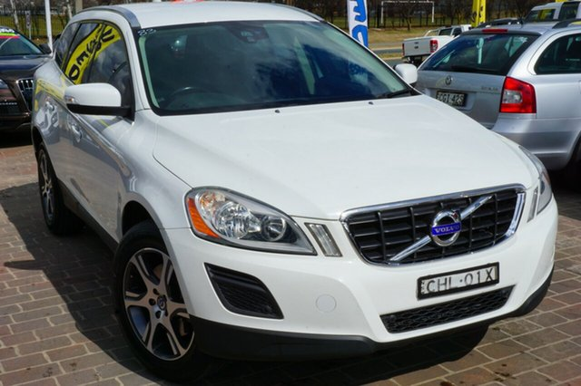 Used Volvo XC60 DZ MY12 T5 PwrShift, 2012 Volvo XC60 DZ MY12 T5 PwrShift White 6 Speed Sports Automatic Dual Clutch Wagon