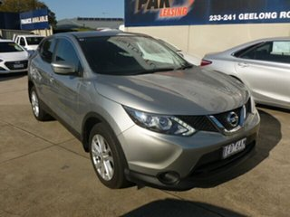 2015 Nissan Qashqai J11 TS Silver 1 Speed Constant Variable Wagon