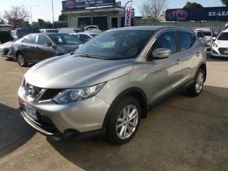2015 Nissan Qashqai J11 TS Silver 1 Speed Constant Variable Wagon.