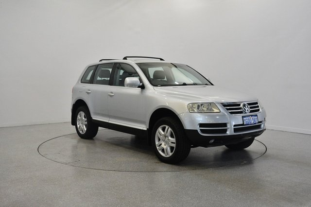 Used Volkswagen Touareg 7L V8 4XMotion, 2004 Volkswagen Touareg 7L V8 4XMotion Silver 6 Speed Sports Automatic Wagon