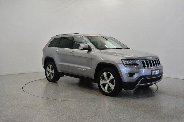 Used Jeep Grand Cherokee WK MY2014 Limited, 2013 Jeep Grand Cherokee WK MY2014 Limited Billet 8 Speed Sports Automatic Wagon