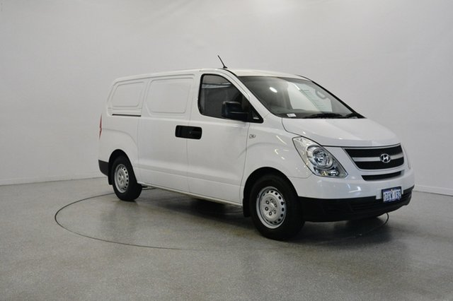 Used Hyundai iLOAD TQ-V , 2011 Hyundai iLOAD TQ-V White 5 Speed Sports Automatic Van