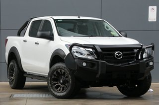2018 Mazda BT-50 UR0YG1 XT Cool White 6 Speed Sports Automatic Utility.