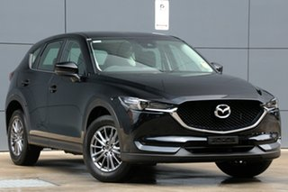 2018 Mazda CX-5 KF2W7A Maxx SKYACTIV-Drive FWD Sport Jet Black 6 Speed Sports Automatic Wagon