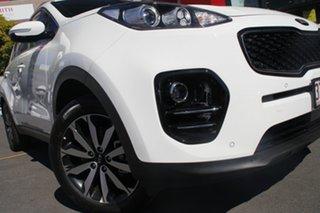 2018 Kia Sportage QL MY18 SLi 2WD Clear White 6 Speed Sports Automatic Wagon.