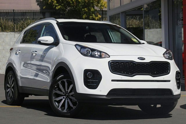 New Kia Sportage QL MY18 SLi AWD, 2018 Kia Sportage QL MY18 SLi AWD Clear White 6 Speed Sports Automatic Wagon