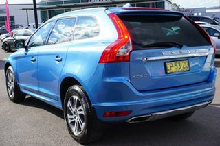 2014 Volvo XC60 DZ MY14 D4 Geartronic Kinetic Blue 8 Speed Sports Automatic Wagon