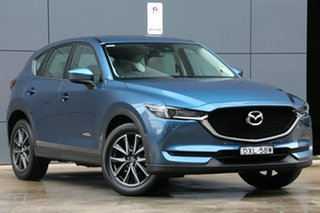 2018 Mazda CX-5 KF4WLA GT SKYACTIV-Drive i-ACTIV AWD Eternal Blue 6 Speed Sports Automatic Wagon.