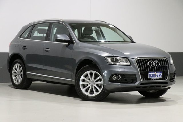 Used Audi Q5 8R MY17 2.0 TDI Quattro, 2016 Audi Q5 8R MY17 2.0 TDI Quattro Monsoon Grey 7 Speed Auto Dual Clutch Wagon