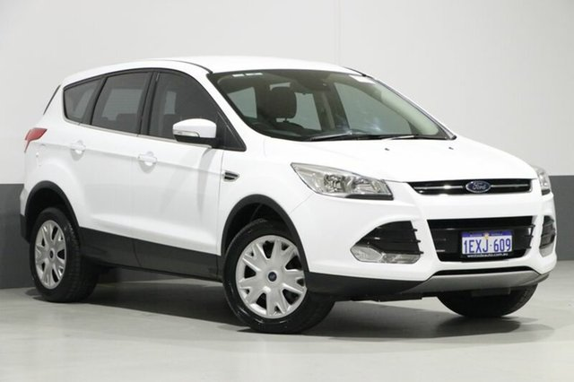 Used Ford Kuga TF MK 2 Ambiente (FWD), 2016 Ford Kuga TF MK 2 Ambiente (FWD) White 6 Speed Automatic Wagon