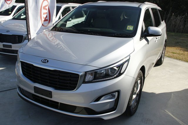 New Kia Carnival YP MY19 SI, 2019 Kia Carnival YP MY19 SI Silky Silver 8 Speed Sports Automatic Wagon