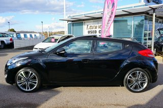 2015 Hyundai Veloster FS4 Series II + Coupe Black 6 Speed Manual Hatchback