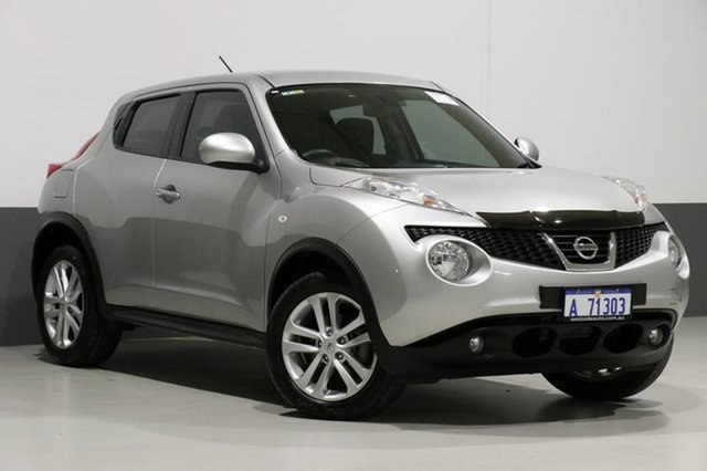 Used Nissan Juke F15 ST (FWD), 2014 Nissan Juke F15 ST (FWD) Grey Continuous Variable Wagon