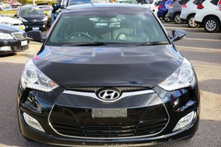 2015 Hyundai Veloster FS4 Series II + Coupe Black 6 Speed Manual Hatchback.