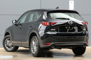 2018 Mazda CX-5 KF2W7A Maxx SKYACTIV-Drive FWD Sport Jet Black 6 Speed Sports Automatic Wagon.
