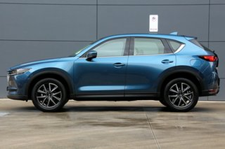 2018 Mazda CX-5 KF4WLA GT SKYACTIV-Drive i-ACTIV AWD Eternal Blue 6 Speed Sports Automatic Wagon
